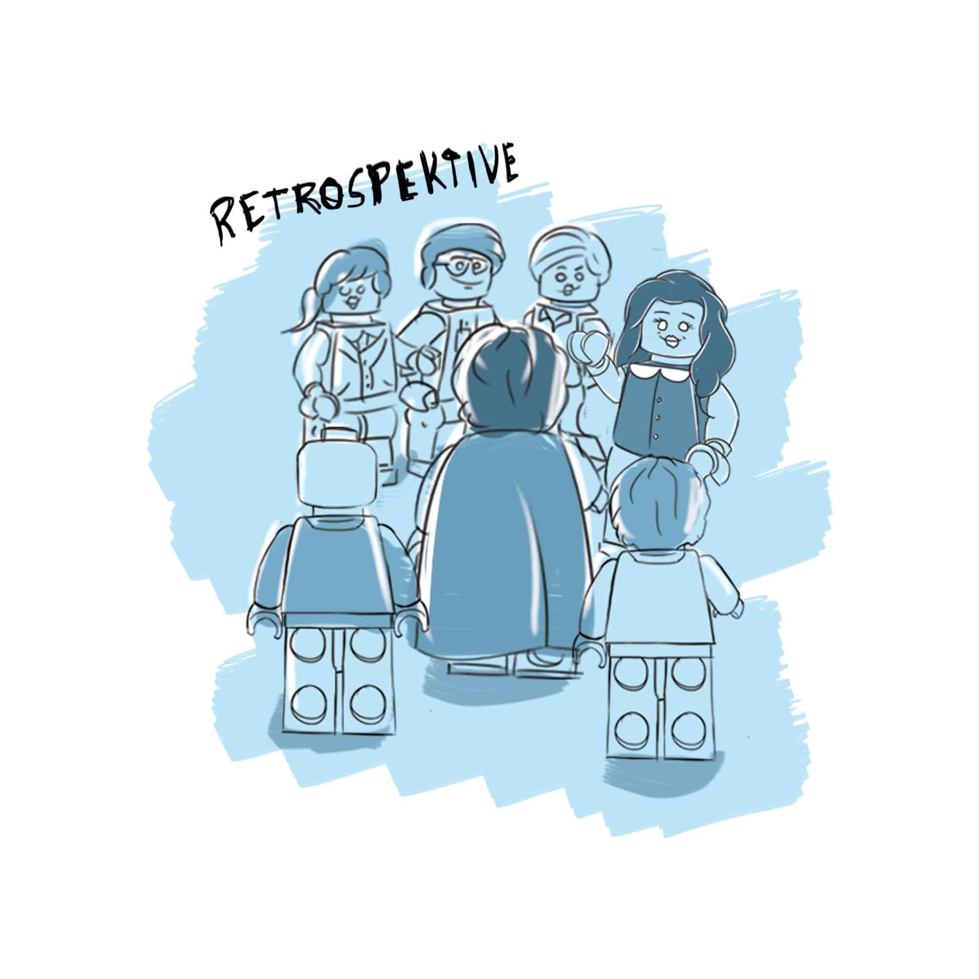 Die Retrospektive Zeichnung