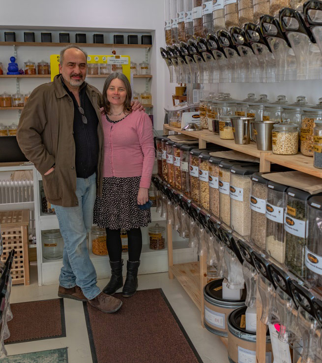 The Earthway Refill shop is East Cork's answer to over-packaging!