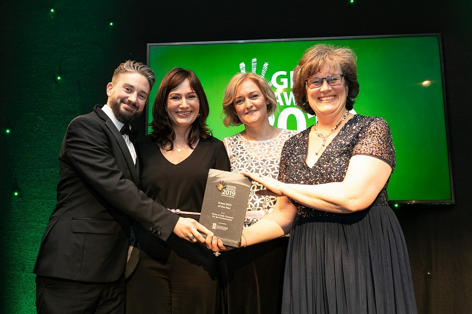 VOICE wins Green NGO of the year at the annual Green awards