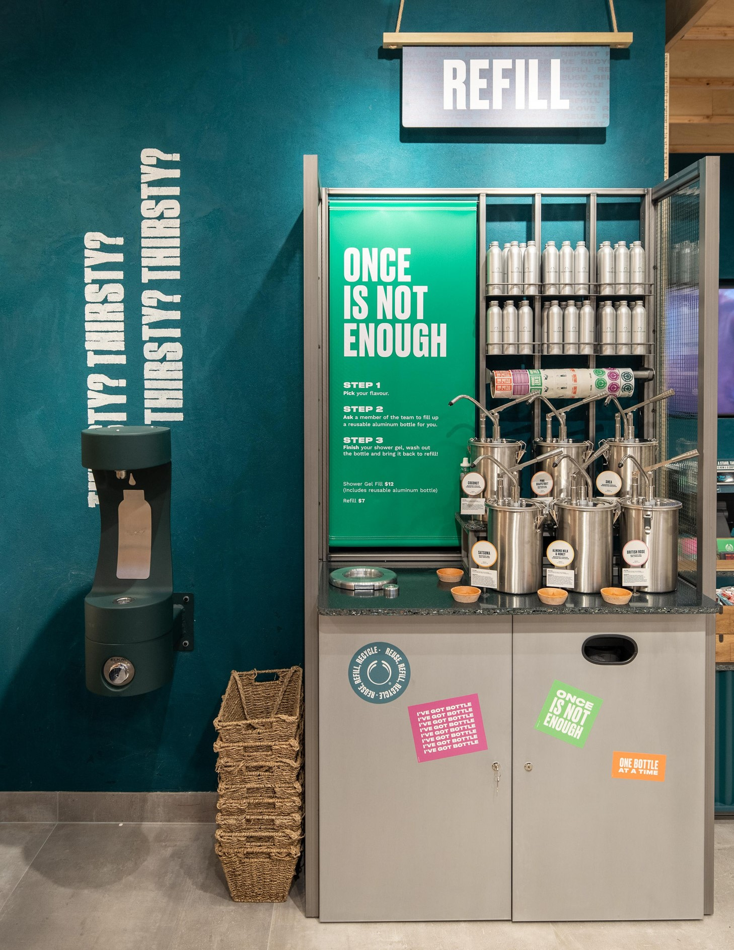 The Body Shop launches Refill Stations Worldwide