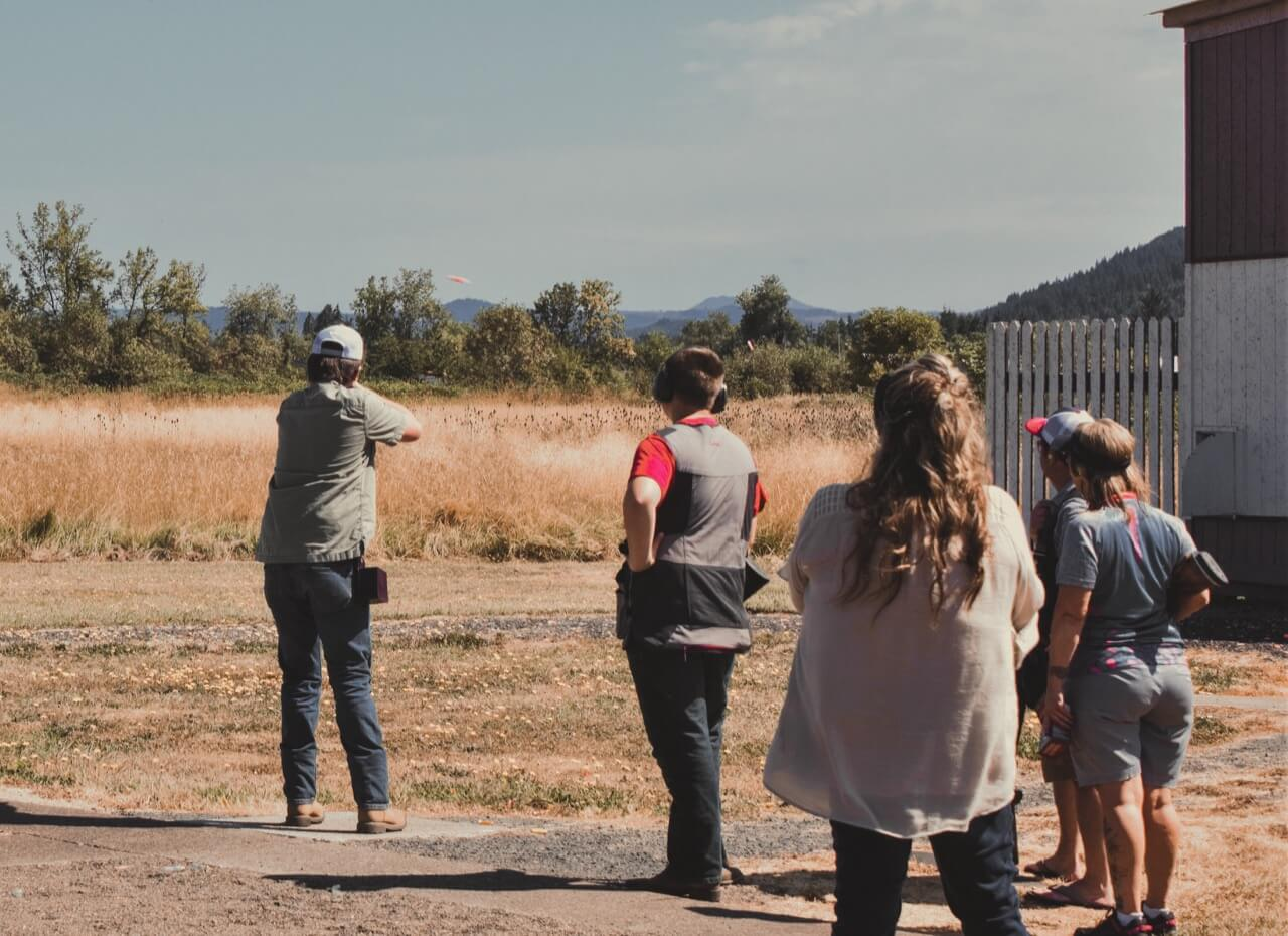 skeet shooting at creswell clay target sports