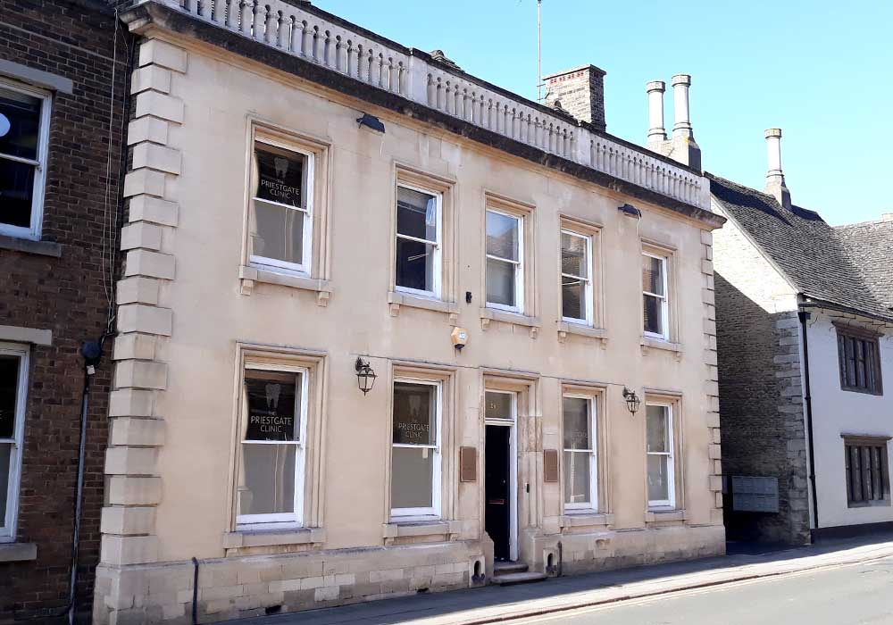 Priestgate Clinic practice in Peterborough