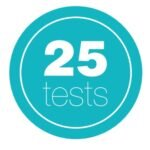 5/25 posameznih testov