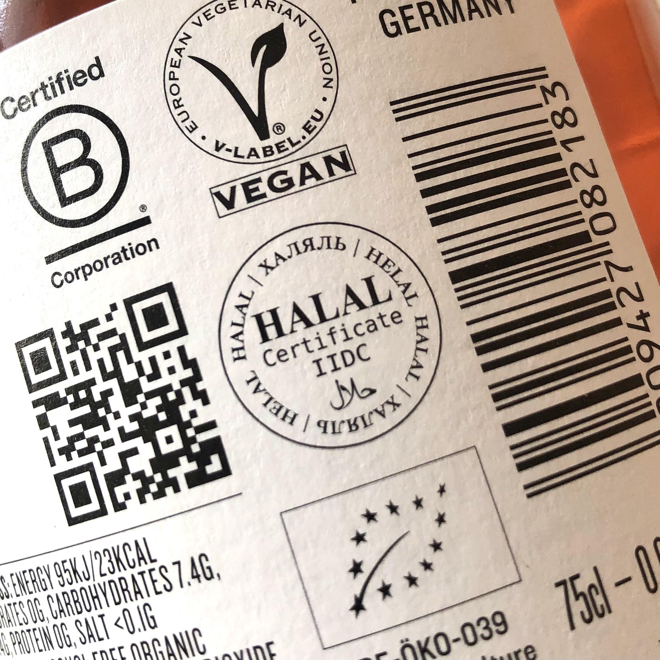 Ingredients are Halal friendly