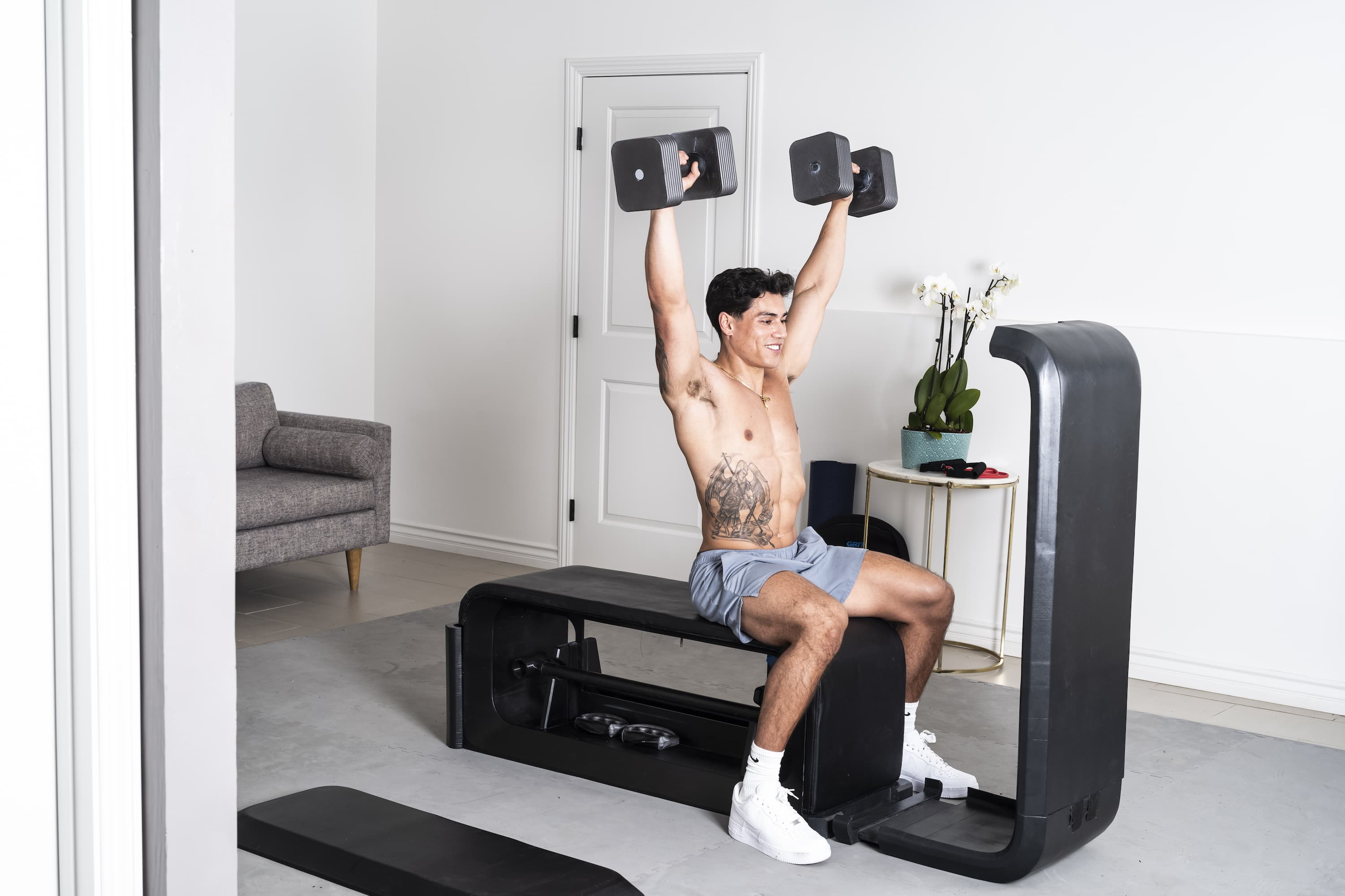 Woman working out with GRIT EPIQ