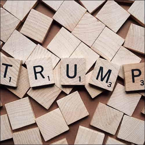 Trump Scrabble Letters