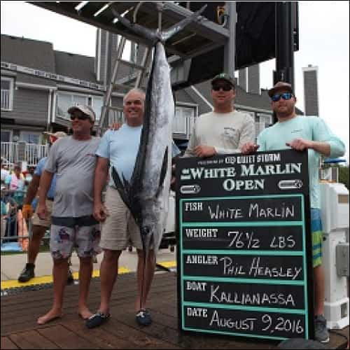 Fish Tournament Winners