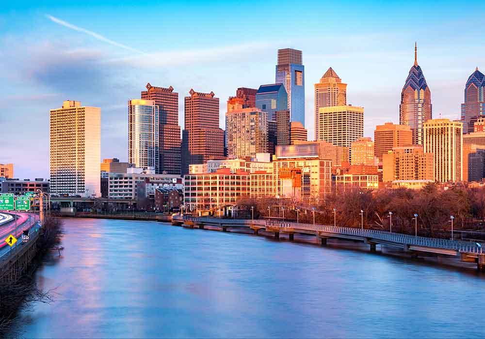 Aerial of Philadelphia Frost Law Office