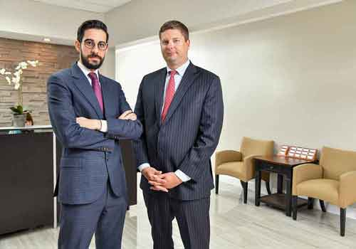 Managing partners of Frost Law