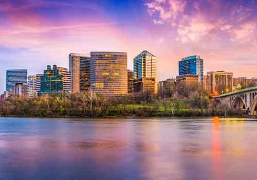 Arlington skyline