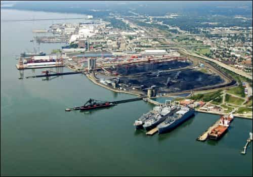 Newport News, VA docks