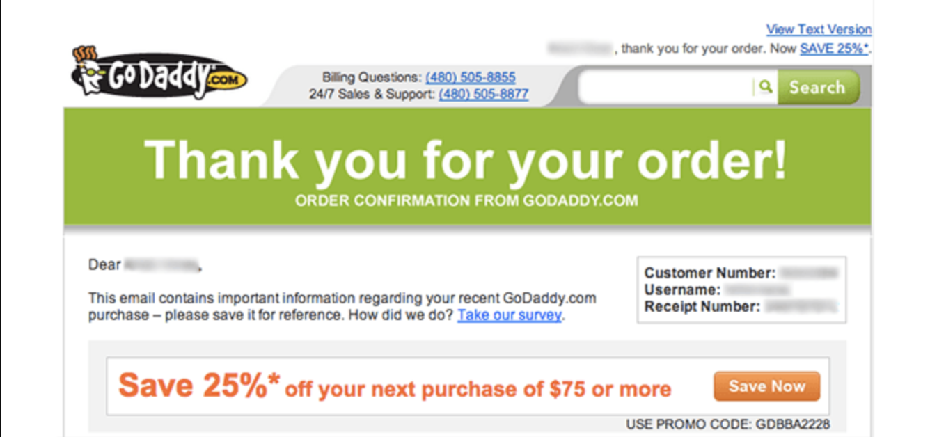 Post-purchase email sequence