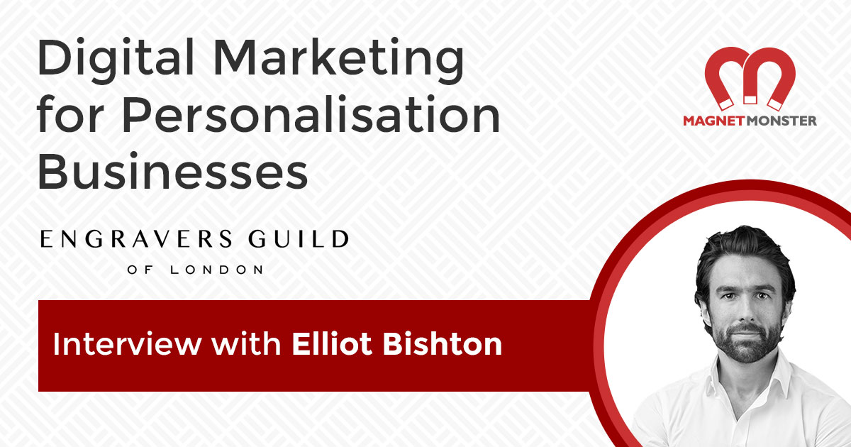 Digital Marketing for Personalisation Businesses: Engravers Guild of London