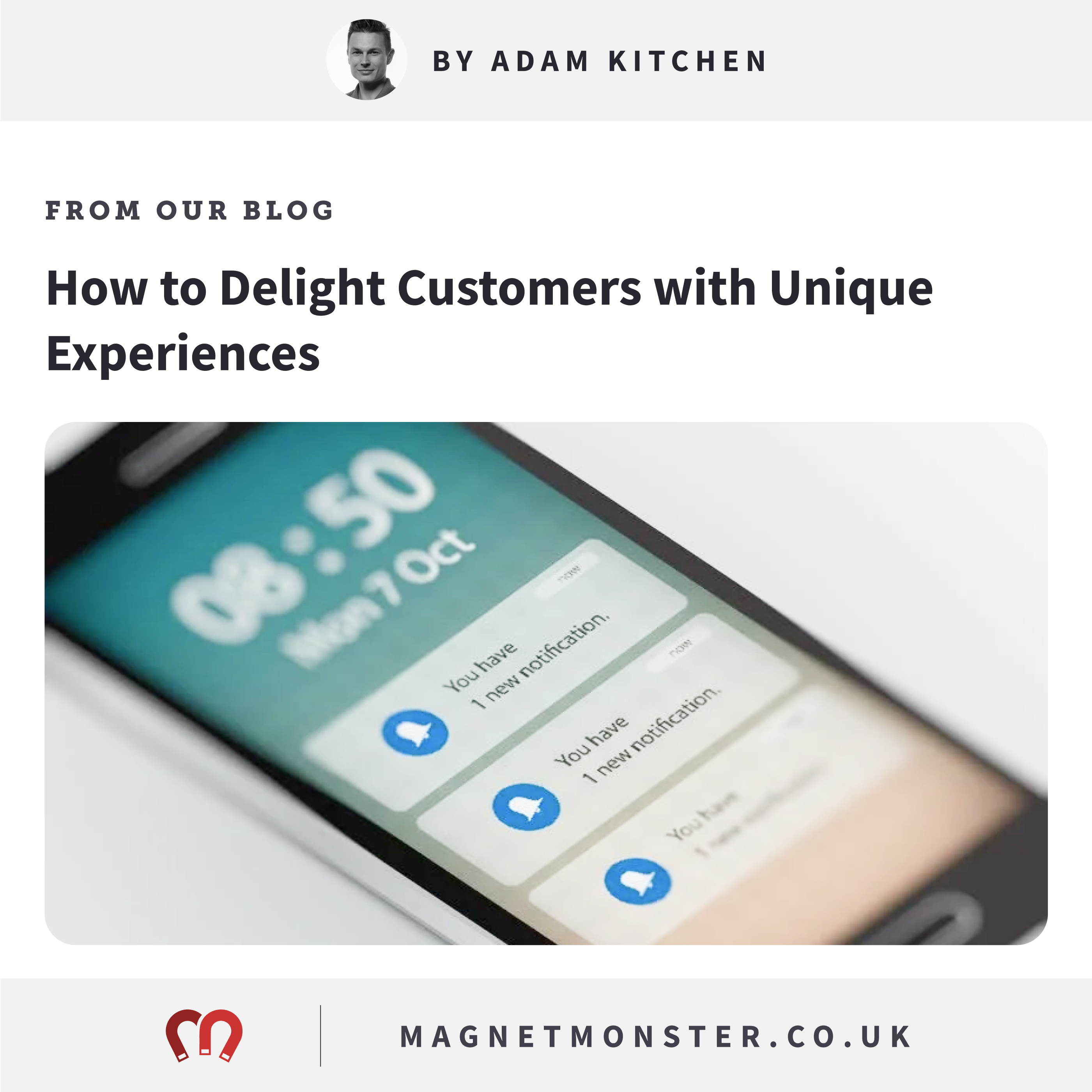 How to Delight Customers with Unique Experiences