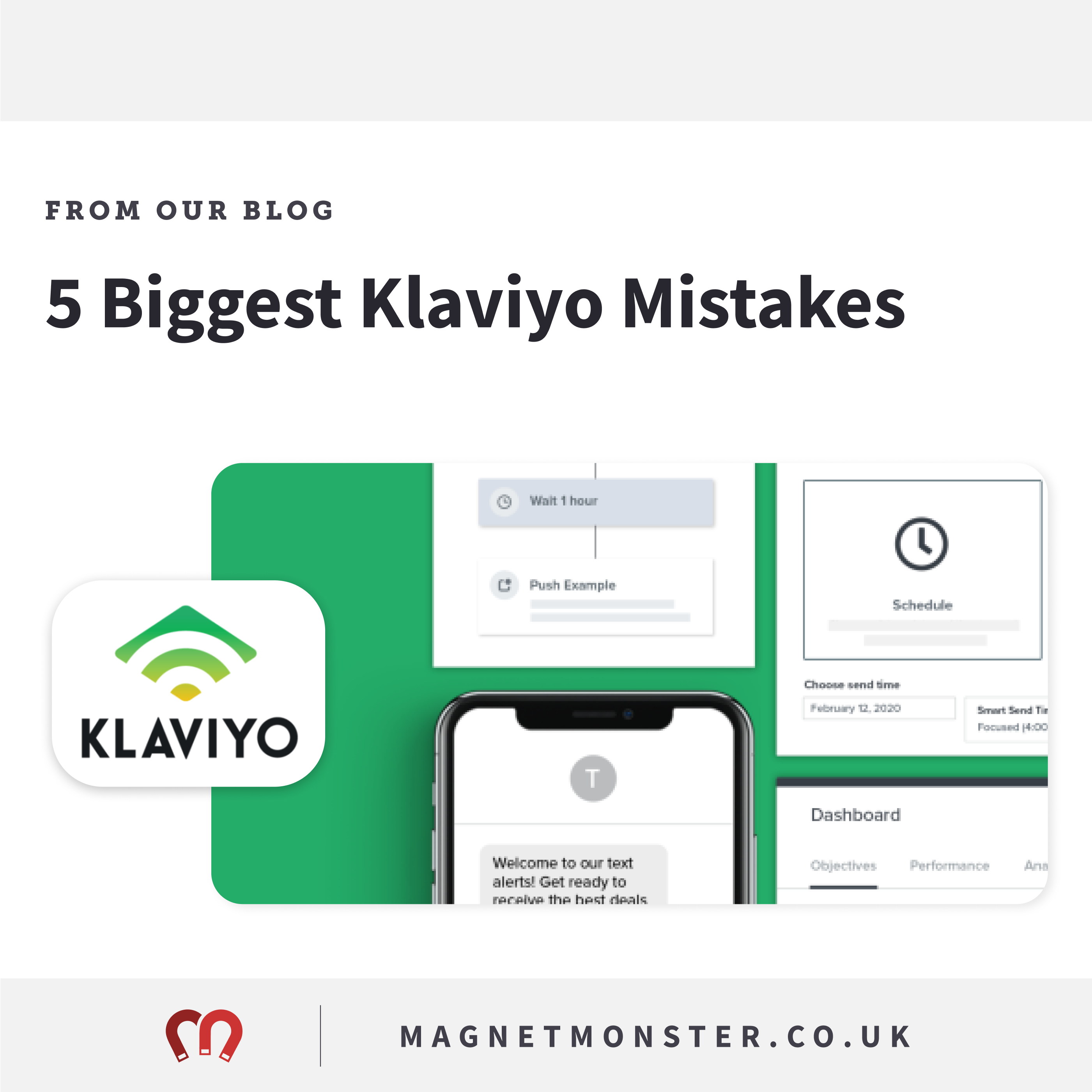 5 Big Klaviyo Mistakes