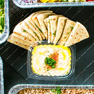 tray of pita