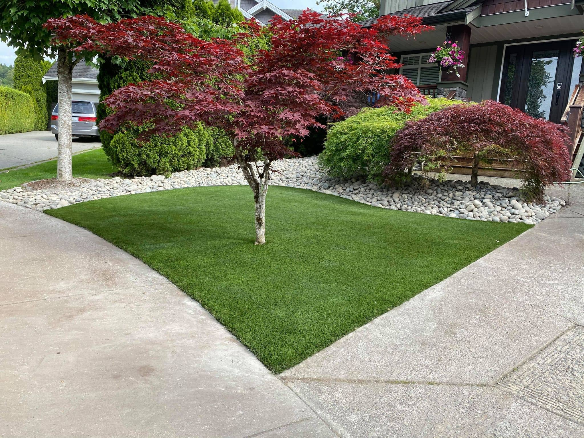 Softscaping photo from Image Turf
