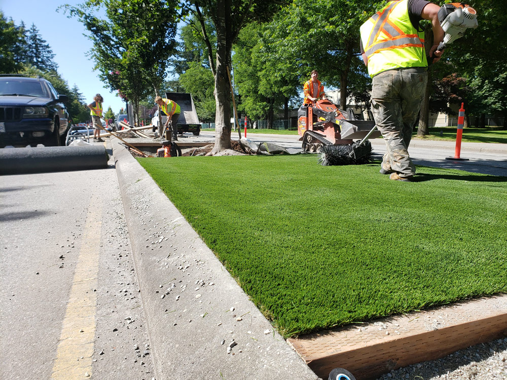 Commercial Landscaping photo from Image Turf