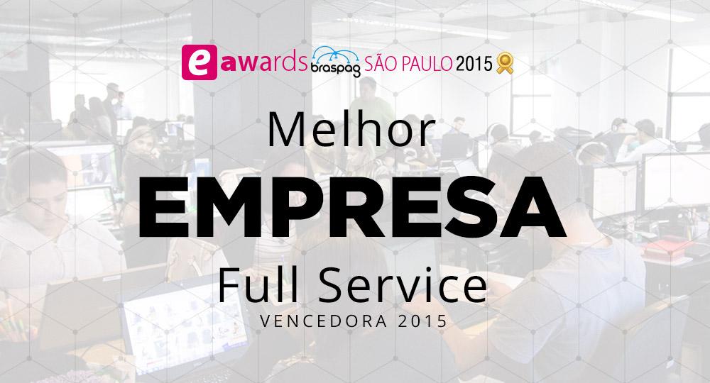 Infracommerce é eleita Melhor Full Service 2015