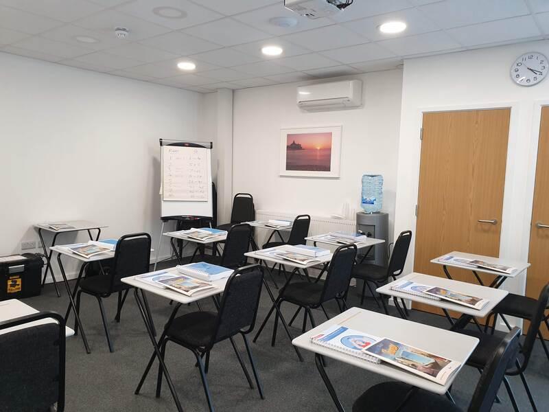 Classroom set up for test exam
