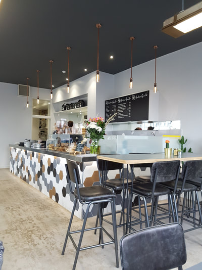 Urban Ground coffee shop in Eastbourne with new air conditioning