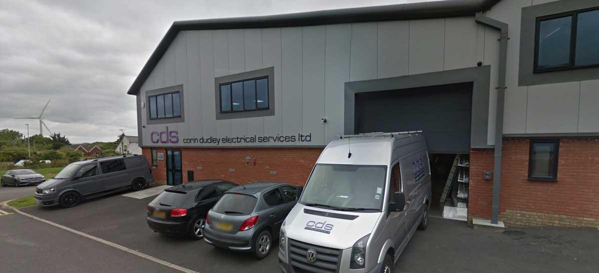 Exterior shot of CDS warehouse