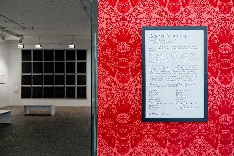 Edge of Visibility - International Print Center New York