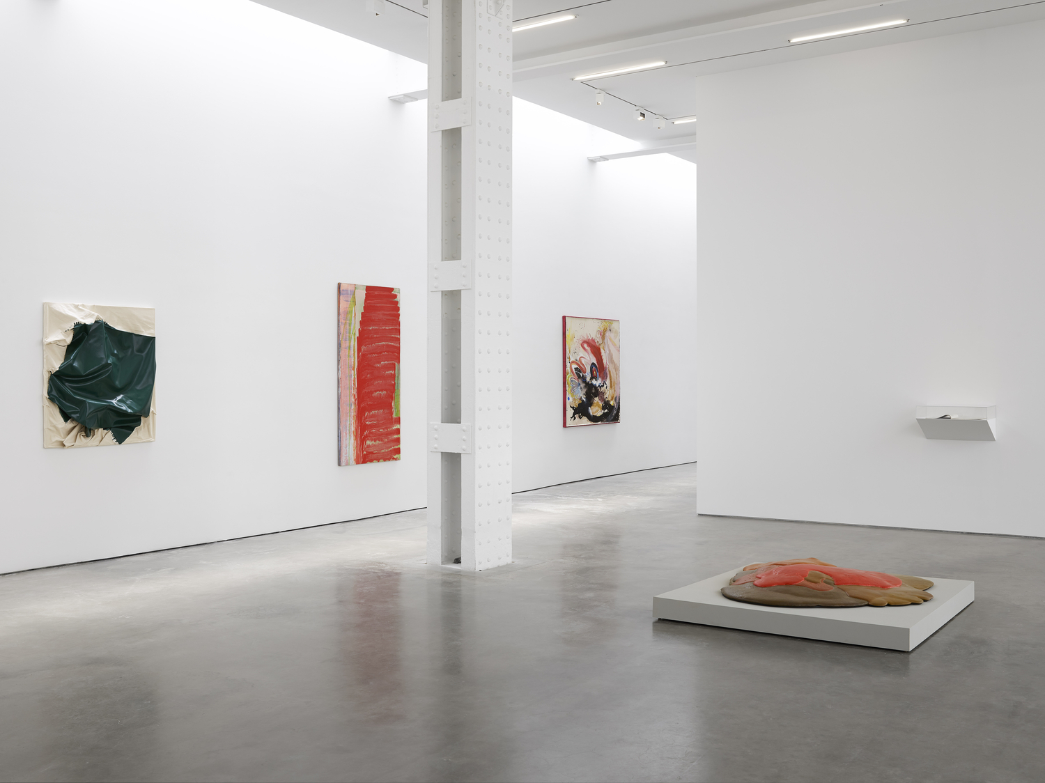 Painters Reply: Experimental Painting in the 1970s and now - Lisson Gallery