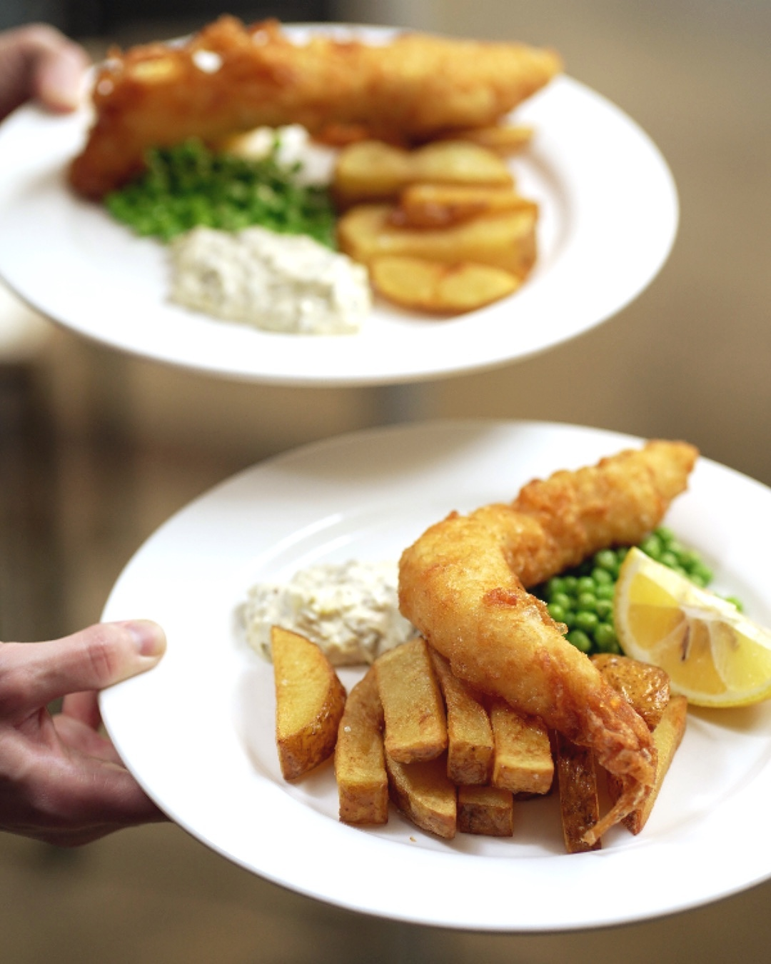 Highgate! You can never go wrong with our delicious & freshly prepared Fish & Chips! Stop by for a meal and an after work pint this evening!  #treatyourself #gardendining #northlondon #highgate #hampstead #food #foodporn #foodphotography #foodstagram #foodofinstagram