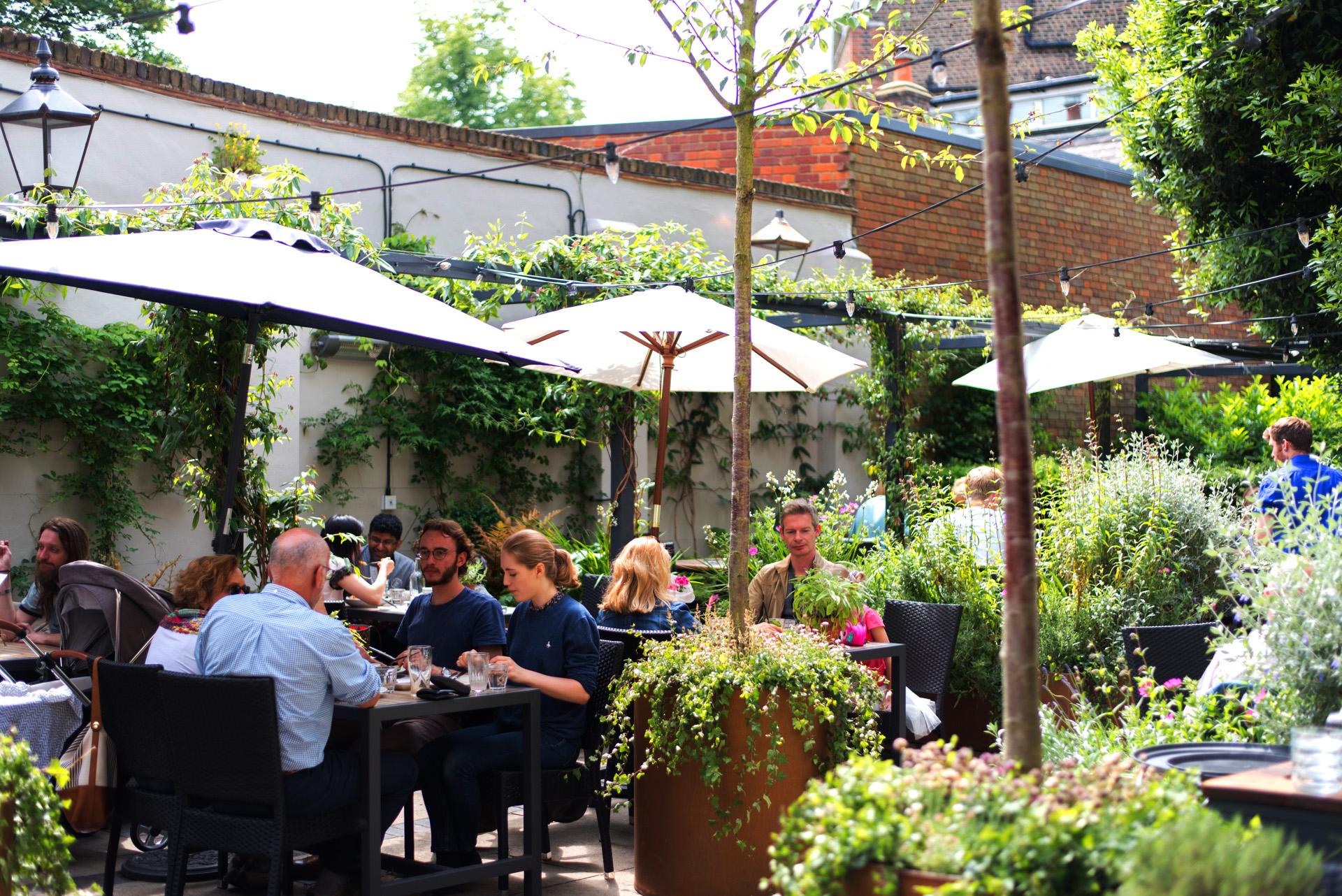 Highgate's best Pub Garden