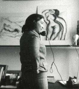 Fay in the Studio