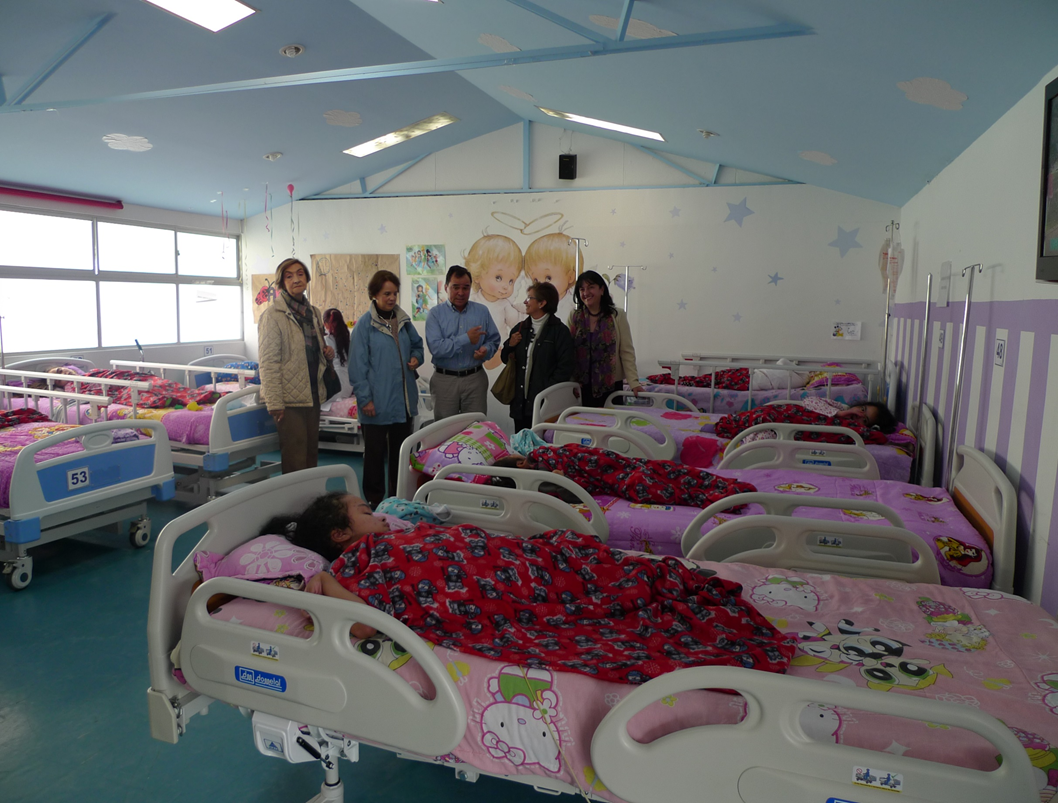 Provision of 10 specialised Beds and 10 paediatric beds to increase the hospital's ward capacity