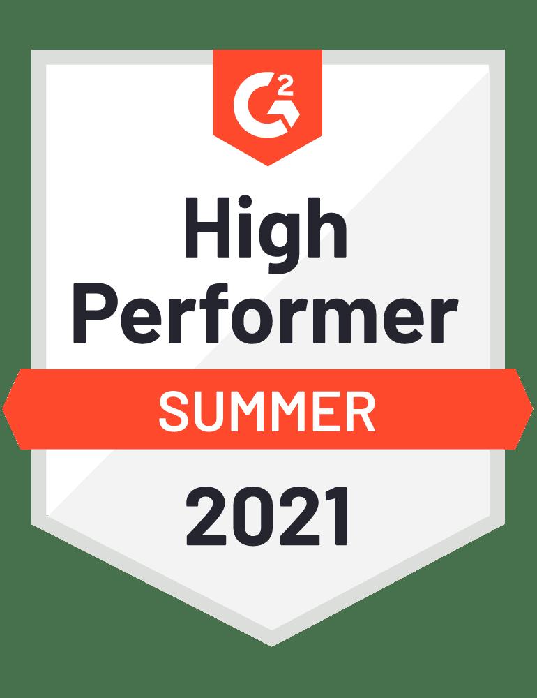 High Performer Summer 2021