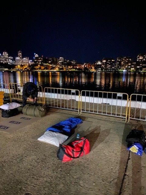 Vinnies CEO Sleepout