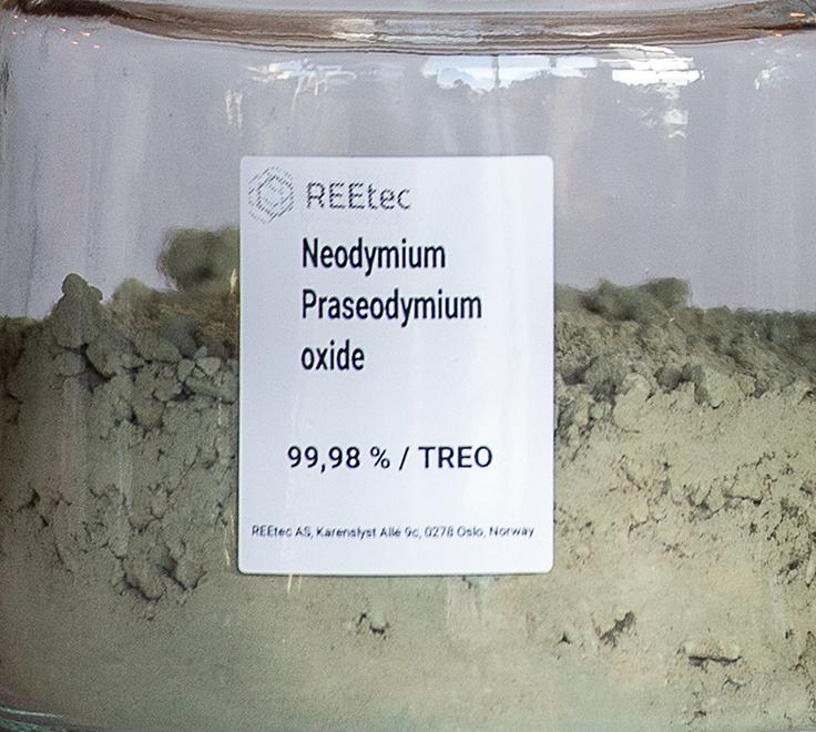 REEtec increases offtake of Vital Metals' REO by 50%