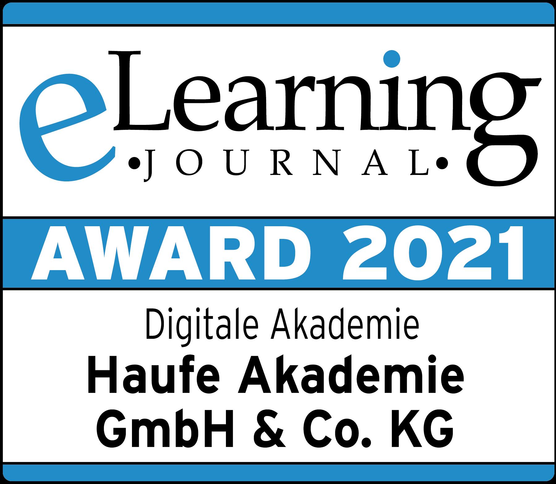 Siegel eLearning Award 2021