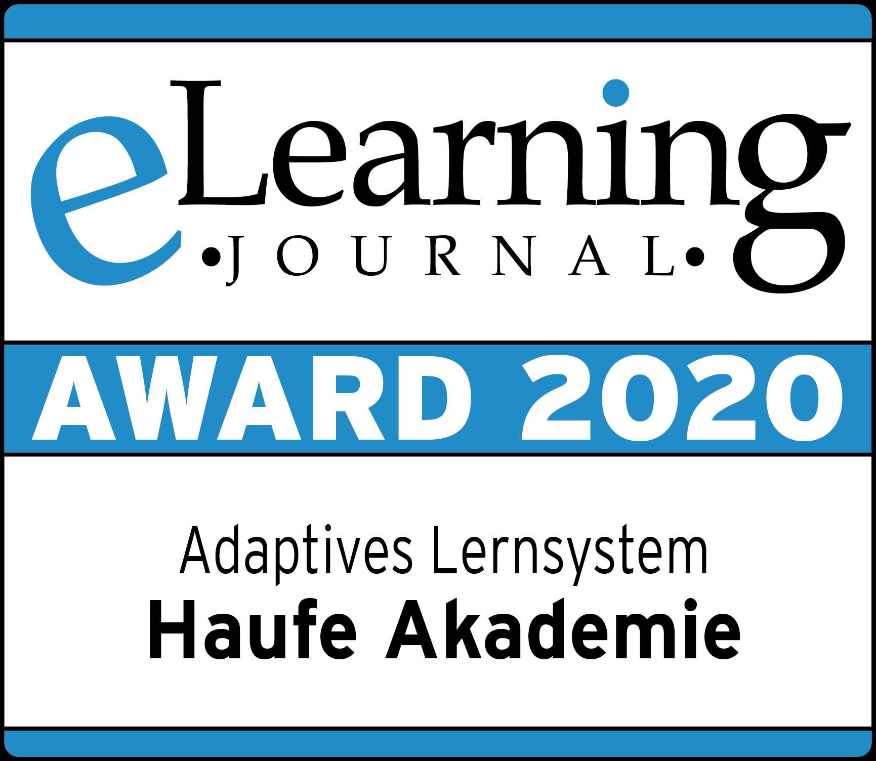 Siegel eLearning Award 2020