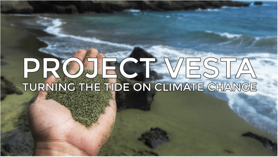 Project Vesta Turning the Tide on Climate Change Banner