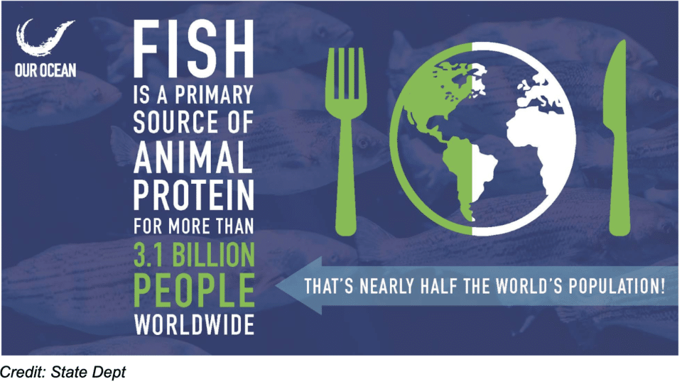 State Department Fish Protein Stats