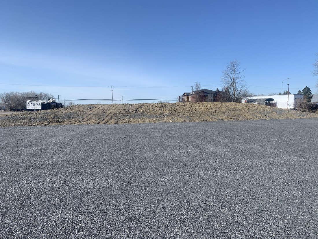granular parking lot