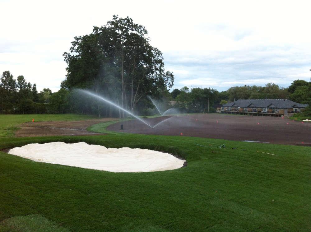 golf practice facility