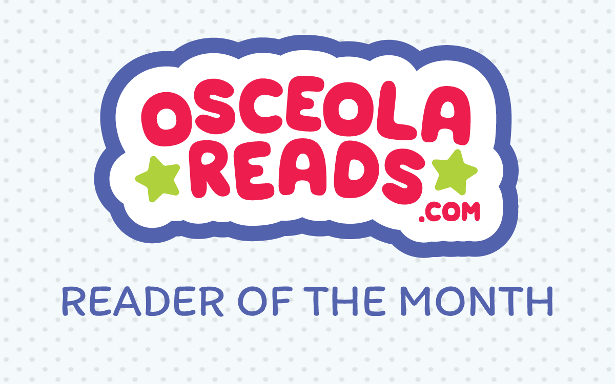 Osceola Reader of the month
