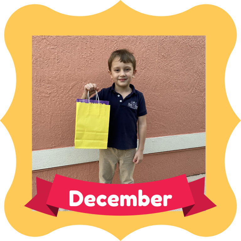 December Osceola Reads Reader of the Month