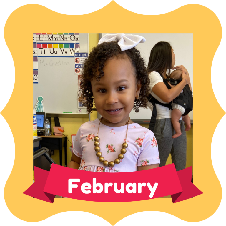 February Osceola Reads Reader of the Month