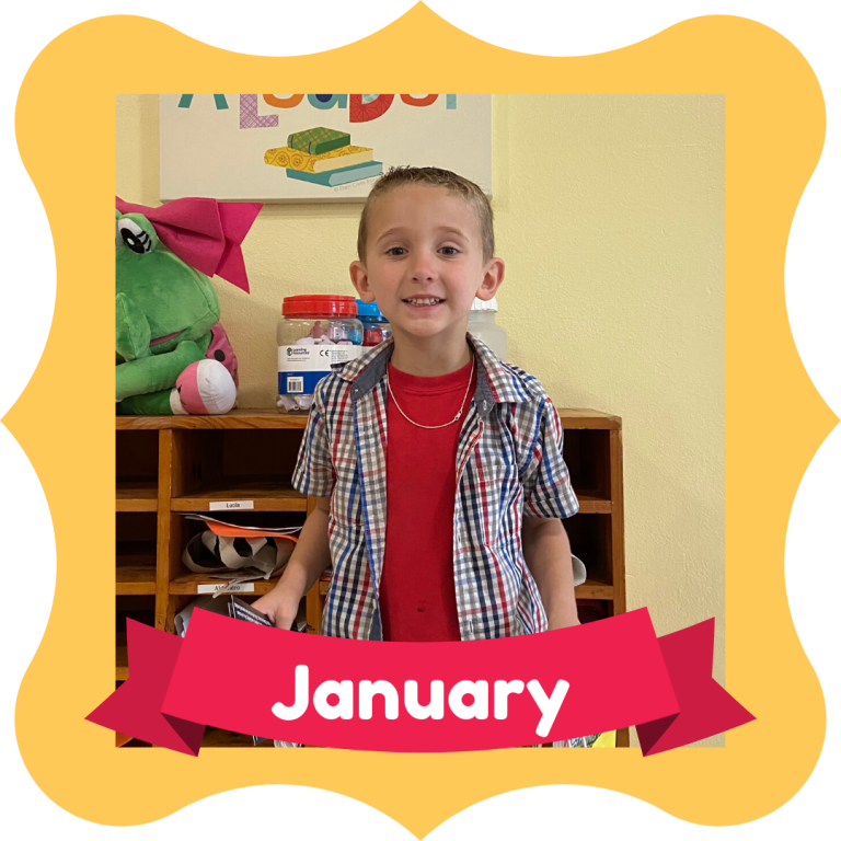 January Osceola Reads Reader of the Month