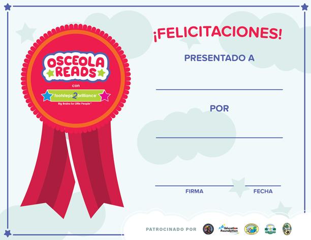 Spanish Color Certificate Thumbnail