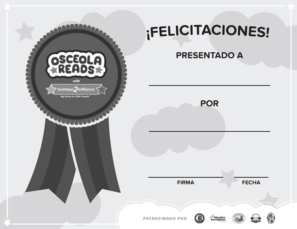 Spanish Black & White Certificate Thumbnail