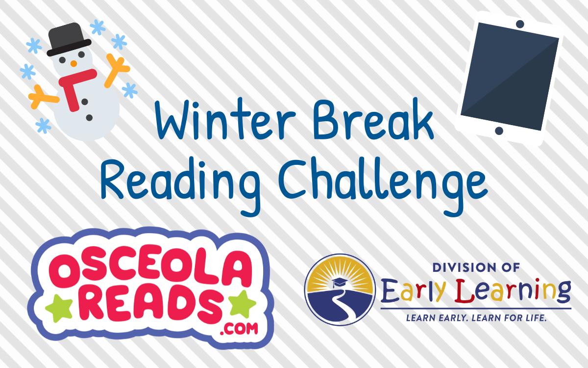 Osceola Reads winter break reading challenge