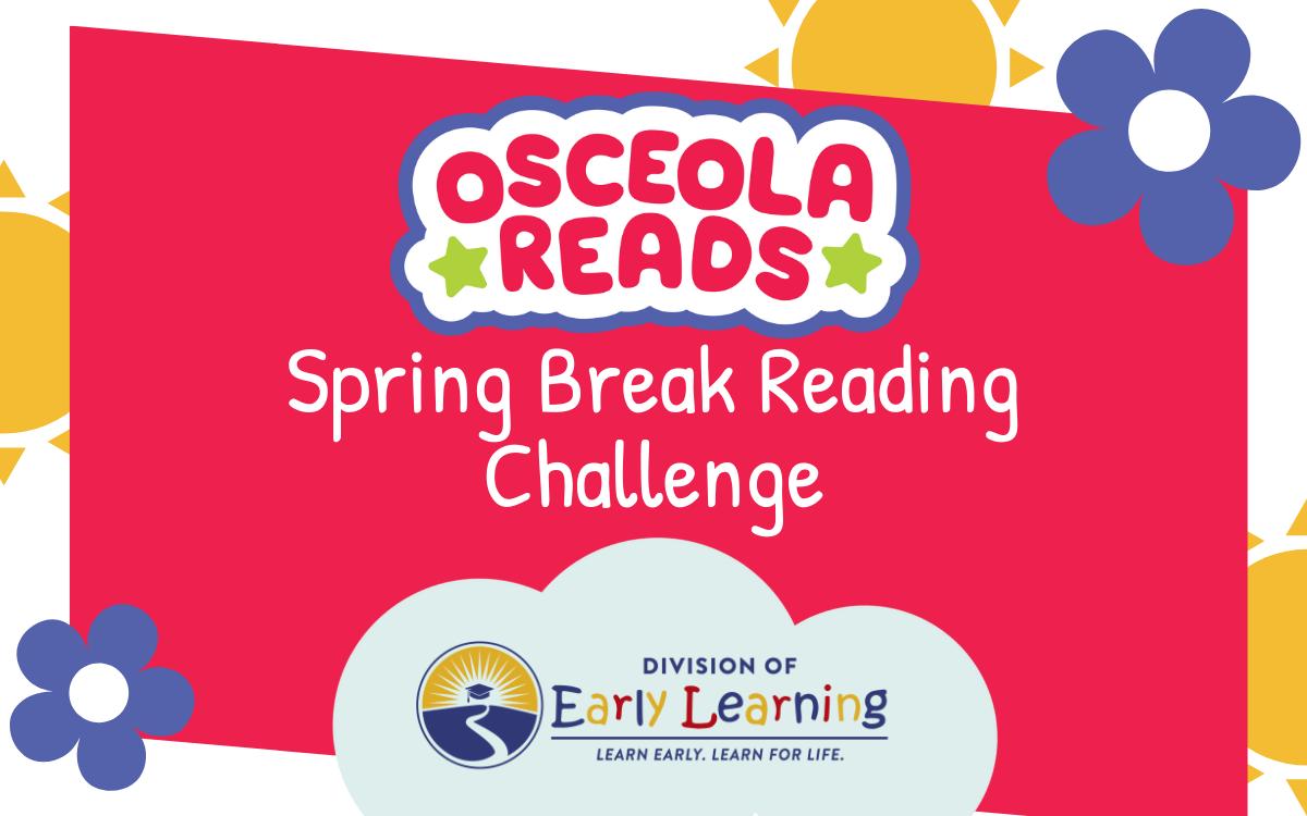 Osceola Reads Spring Break Reading Challenge