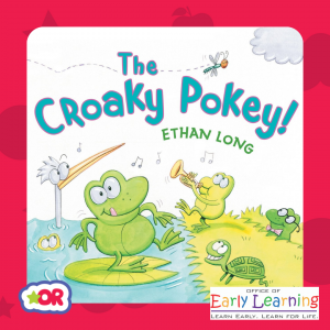 Book cover of The Croaky Pokey by Ethan Long